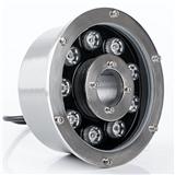 LED喷泉灯 LED水下灯 LED水底灯 LED防水灯 环形中孔喷泉灯 9W大功率喷泉灯