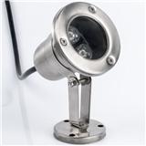 LED水底灯 LED水下灯 LED明装水下灯 304不锈钢灯 3W水底灯 LED喷泉灯