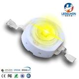 广州led厂家供应大功率led灯珠 led发光二极管 1W大功率黄光led