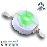 批发大功率3W绿光led灯珠 高亮LED发光二极管
