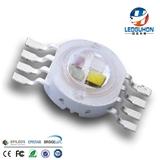 八脚四合一LED灯珠 RGBW全彩大功率led发光二极管 大功率LED灯珠