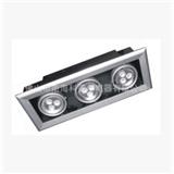 厂家供应/LED格栅灯具/吊线格栅灯/四头格栅灯具/LED格栅灯/115