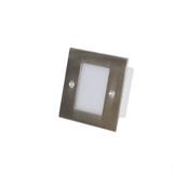 厂家直销led地脚灯86型嵌入士壁灯工程专用方形1W楼梯灯