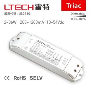 雷特 可控硅调光电源 TD-36-200-1200-EFP1