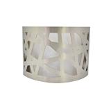 chinalamps 美式简约镭射铁艺双灯罩led床头走廊浴室壁灯