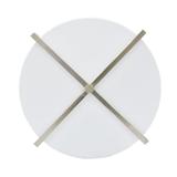 CHINALAMPS 美式现代简约设计三头亚克力板吸顶灯