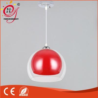 厂家热销个性简约亚克力圆球彩色吊灯餐厅吧台家居吊灯
