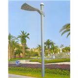 威牌路灯庭院灯厂家直销压铸铝扇形灯头圆杆路灯