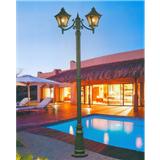威牌路灯庭院灯厂家直销双头欧式防水防尘抗庭院灯