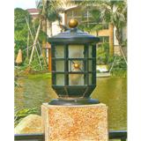 威牌路灯柱头灯厂家直销户外防水别墅小区园林公园桥梁柱头灯