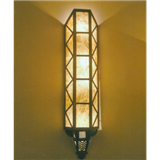 威牌路灯厂家直销欧美风格V形条纹户外壁灯