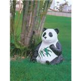 威牌路灯户外防水仿熊猫动物游乐园音响灯厂家直销
