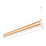 新款LED线条灯 吊线 明装吸顶 100X64mm