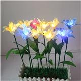 工厂直销 LED花灯 LED玫瑰花灯 LED百合花灯 LED康乃馨灯 LED向日葵插地灯