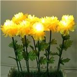 工厂直销 LED花灯 玫瑰花灯 百合花灯 康乃馨灯 向日葵插地灯 牡丹花灯