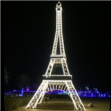梦幻灯光节 艾弗尔铁塔造型灯 led图案灯 广场活动道具照明灯具 户外防雨 厂家定制