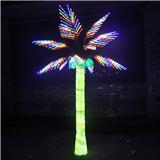 LED树灯 棕榈树 叶子树灯 发光树 高3米 户外防雨 厂家直销