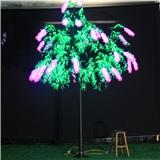 LED树灯 普通樱花树灯 高度3米 户外防雨质保两年 发光松树灯 工厂直销