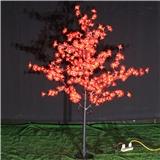 工厂出售LED景观亮化假树灯 高1.8米绿色发光LED樱花树灯 质保2年