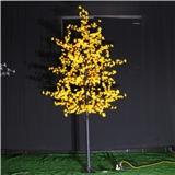 工厂直销 LED桃树灯 高3米 粉色 LED仿真系列树灯 各种景观树出售 led发光树