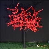 供应LED大花瓣户外景观发光树灯 高2.5米 220V 户外防水樱花树灯 质保两年