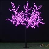 特价LED大樱花景观发光树灯 220V 2.5米高 户外防雨结构 质保两年