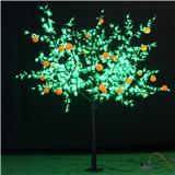 工厂促销 LED水果树灯 苹果桃子芒果树灯 新款led树灯 3米 led仿真樱桃树 户外亮化树灯