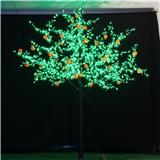 制定桃子芒果柚子梨子水果树灯 LED发光景观装饰灯生佳照明树灯厂