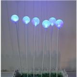 户外装饰景观灯 直径6cm圆球插地灯 园林绿化发光圆球灯 圣诞婚庆工程亮化 室外led芦苇灯