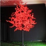 LED红枫叶树灯商场节日装饰景观树灯LED锥形树灯圣诞树灯高3.5米