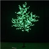 厂商圣诞节日装饰LED樱花树枝灯 高2.5米 雪花白色圣诞树批发 户外防雨 质保两年