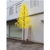 厂家LED仿真枫叶景观发光树灯 7米LED树灯户外防雨防水 质保两年