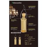 led灯泡e14小螺口蜡烛灯泡 E27节能灯5W7W9W尖泡拉尾水晶吊灯光源