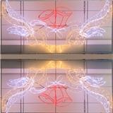 梦幻灯光节LED立体造型灯 广场活动展览灯具 厂家定制 户外防雨圣诞铃铛 节日装饰灯