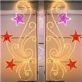 节日彩灯灯光节LED造型灯 挂路灯杆图案灯 广场活动展览灯具 厂家定制 户外防雨