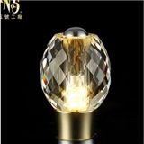 厂家定制 后现代水晶灯泡水晶光源 客厅餐厅led吊灯配件 节能省电
