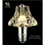 新品LED水晶灯泡 创意个性水晶led球泡灯 现代简约水晶光源