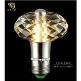 创意个性水晶算珠led球泡灯 现代简约水晶光源 led节能灯泡批发厂家