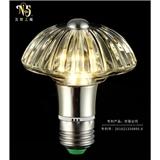 现代简约水晶灯光源 水晶灯泡 时尚个性创意酒吧咖啡厅节能灯