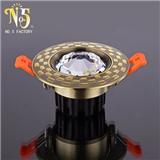 批发销售铬色筒灯 φ9055MM高亮度筒灯 双色筒灯