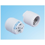 UL美规认证E26全牙陶瓷灯头 KX-C03.26803