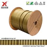 VDE SAA KC 认证 H03VVH2-F 2x0.5/0.75mm2 PVC AC扁线电线