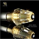 工厂直销个性水晶灯泡高档工程酒店家用水晶led灯泡可定做