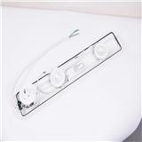 开关和插座的组合框 230V 白色或黑色 高端品质