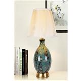 美式陶瓷台灯欧式混搭个性台灯创意装饰陶瓷台灯HH风格地中海
