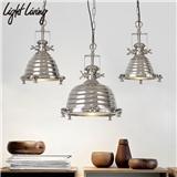 美式loft复古重工业风吊灯餐厅吧台服装店怀旧个性创意铁艺吊灯