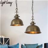 美式乡村复古工业风吊灯餐厅咖啡厅服装店怀旧浪漫重金属铁艺吊灯
