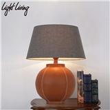 loft工业风复古灯具书房卧室床头书桌包皮车缝个性创意装饰台灯