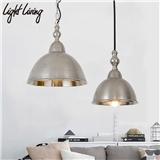 复古工业风装饰灯具橱窗餐厅酒吧服装店创意个性美式怀旧铁艺吊灯