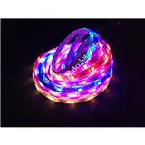 内置全彩灯条,内置SK6812IC,幻彩灯带,1米30灯跑马灯带